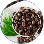 Přírodní bezvodý kofein