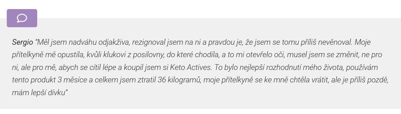 diskuze Keto Actives